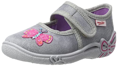 bb3d2bebb223d Superfit Belinda Kinder Hausschuhe - 80028806 - Color Grey - Size  35.0 EUR