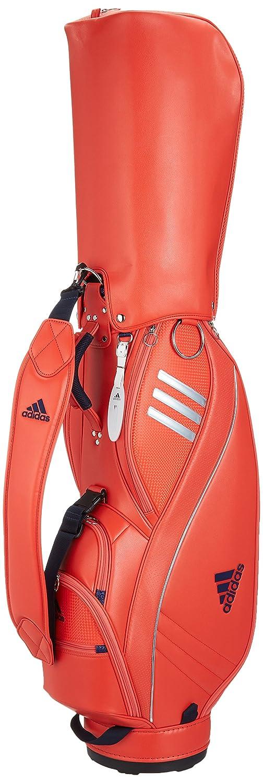 [アディダスゴルフ] キャディバッグ 8.5型 2.9Kg 46インチ対応/軽量設計/シューズインポケット/ネームプレートフード付き/  セミソーラーレッド B073B5QG79