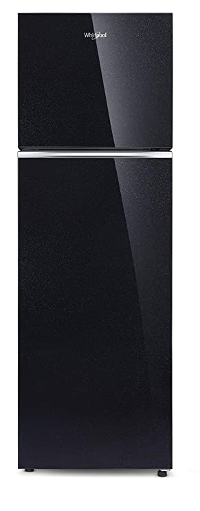 Whirlpool 292 L 2 Star Frost Free Double Door Refrigerator with Glass Door  NEOFRESH GD PRM 305 2S, Crystal Black  Refrigerators