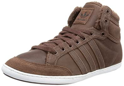 adidas Originals PLIMCANA MID FU, High top homme Marron (STAUBUSTAUB