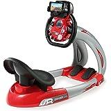 Smoby Toys - 370206 - Simulateur Conduite Enfant, Pilot - V8 Driver + Support, Application 3D Smoby