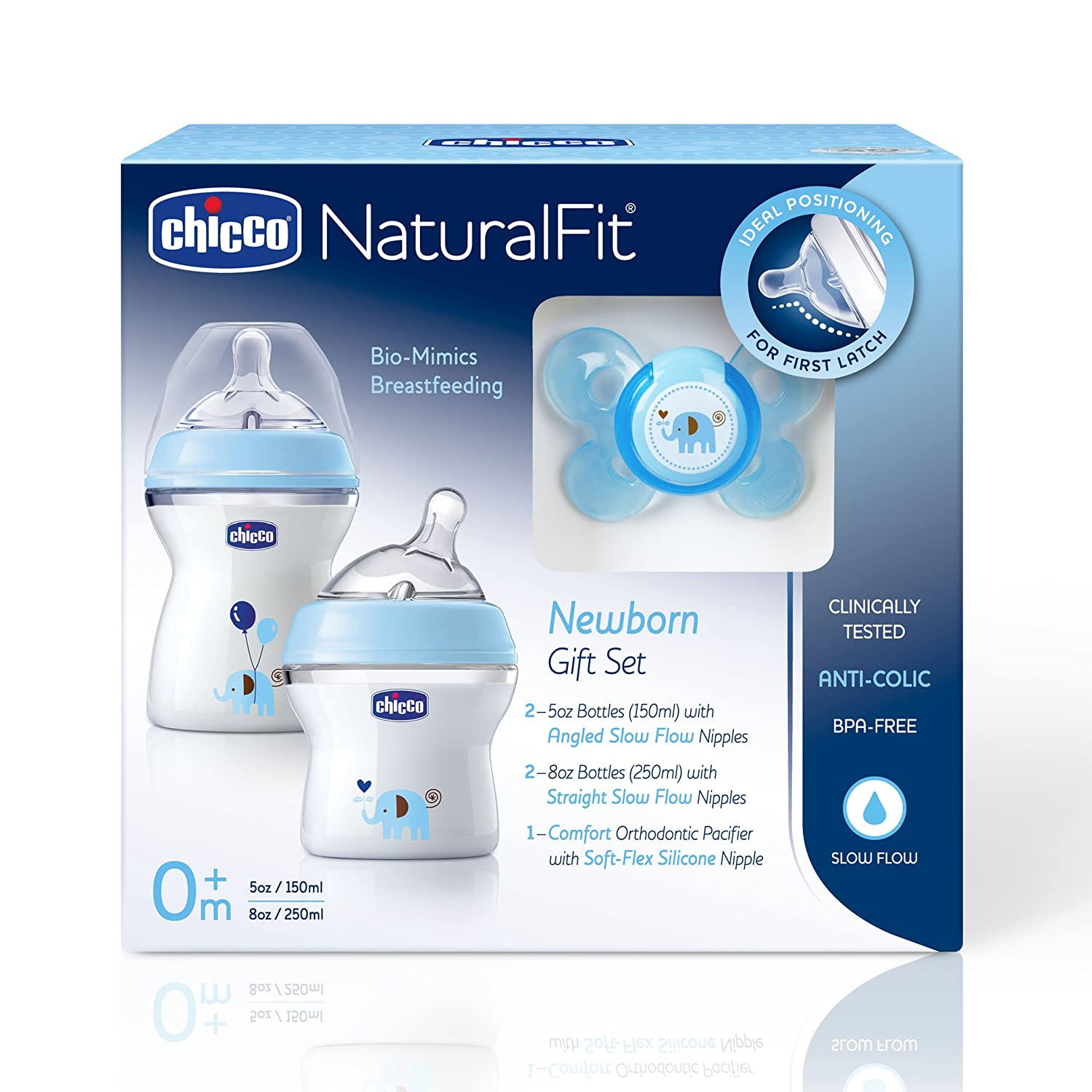 Amazon.com: Chicco Natural Fit Deco Set de regalo: Baby