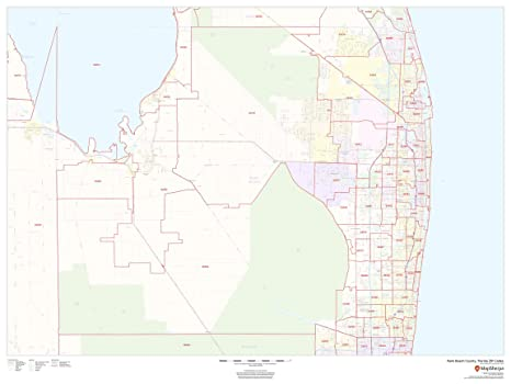 Amazon.com : Palm Beach County, Florida Zip Codes - 48