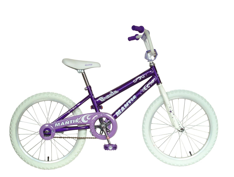 Mantis Ornata Kid's Bike, 20 inch Wheels, 12 inch Frame, Girl's Bike, Purple by Mantis B002VD8H5E