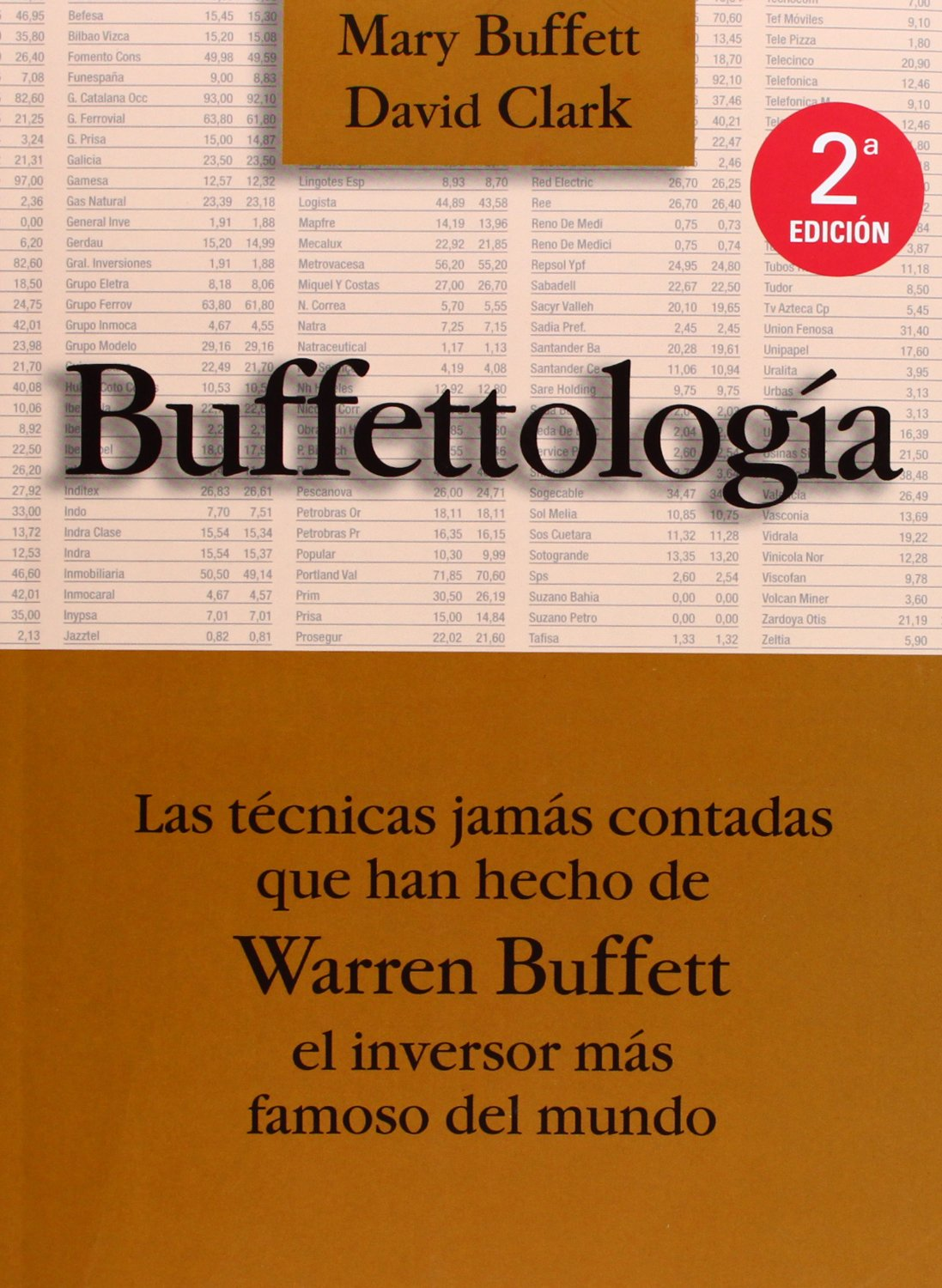 Amazon.com: Buffettologia (9788480885508): Mary Buffett, David Clark: Books