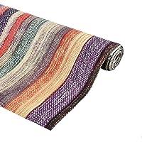 Kuber Industries Exclusive PVC Wardrobe/Kitchen/Drawer Shelf Mat 5 Mtr Roll (Multi) KSR10 (CTKTCMPN687)