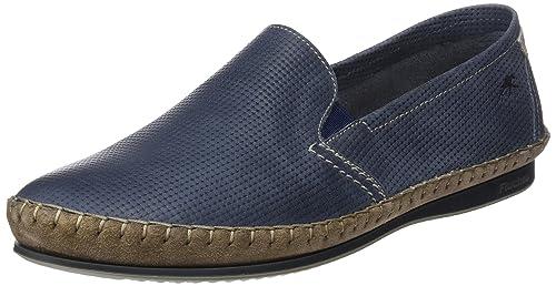 Fluchos Bahamas, Mocasines para Hombre, Azul (Blue), 44 EU: Amazon.es: Zapatos y complementos
