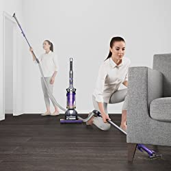 Dyson Upright Vacuum Cleaner, Ball Animal 2, Iron/Purple