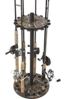 RealTree Camo Round 16 Fishing Rod Storage Rack