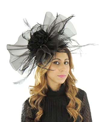 Gorgeous Thinadhoo Large Army Green Ascot Derby Fascinator Hat - With  Headband c0f0fa567022