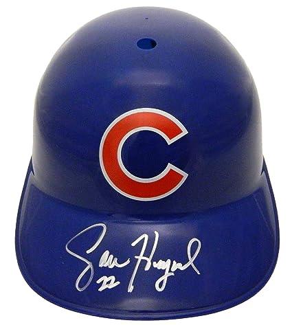 107bf7e731c Jason Heyward Signed Chicago Cubs Replica Batting Helmet - Autographed MLB  Helmets