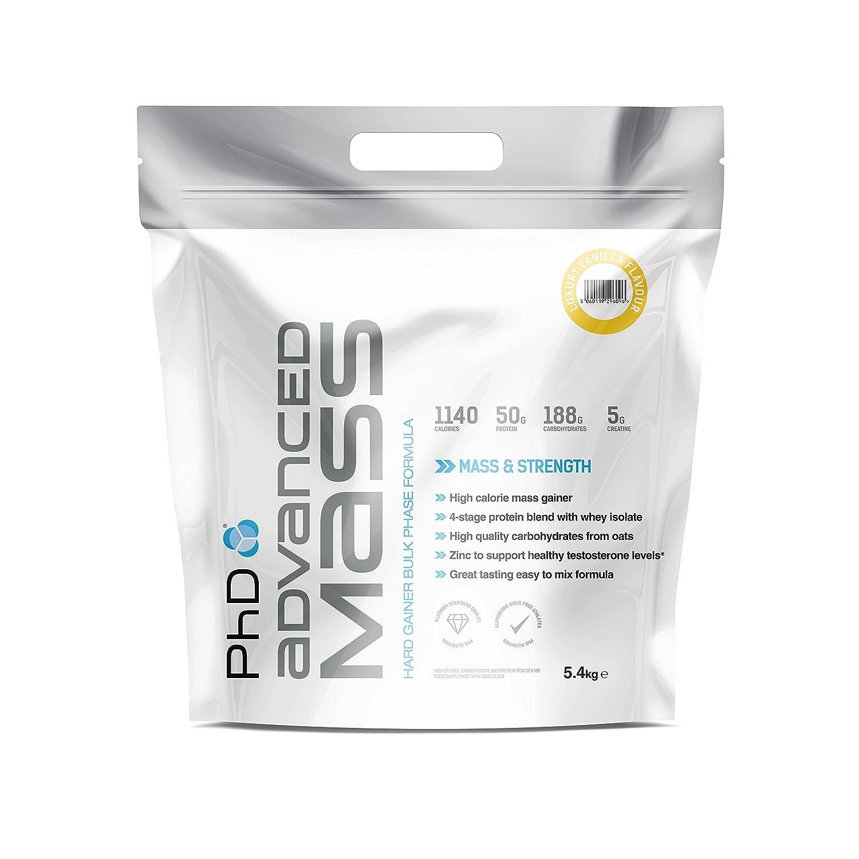 PhD Advanced Mass Luxury Vanilla - 5400 gr: Amazon.es: Salud y cuidado personal