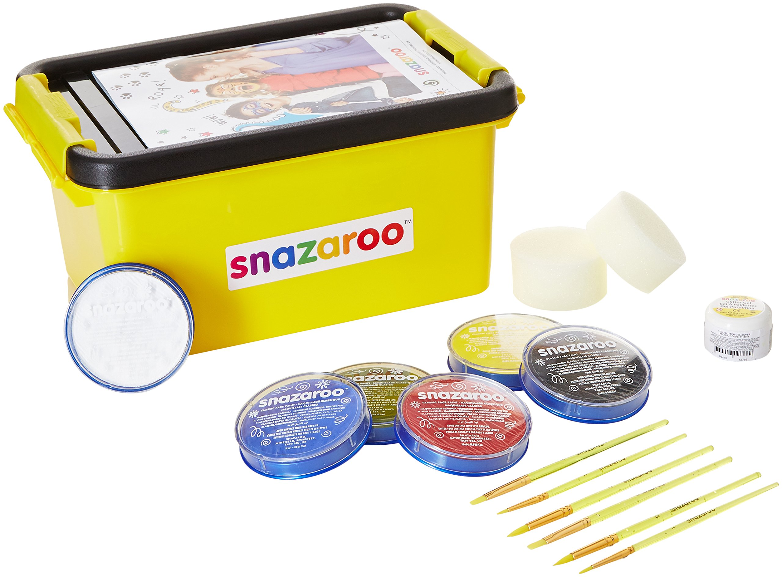 Snazaroo Face Paint Mini Starter Kit 10