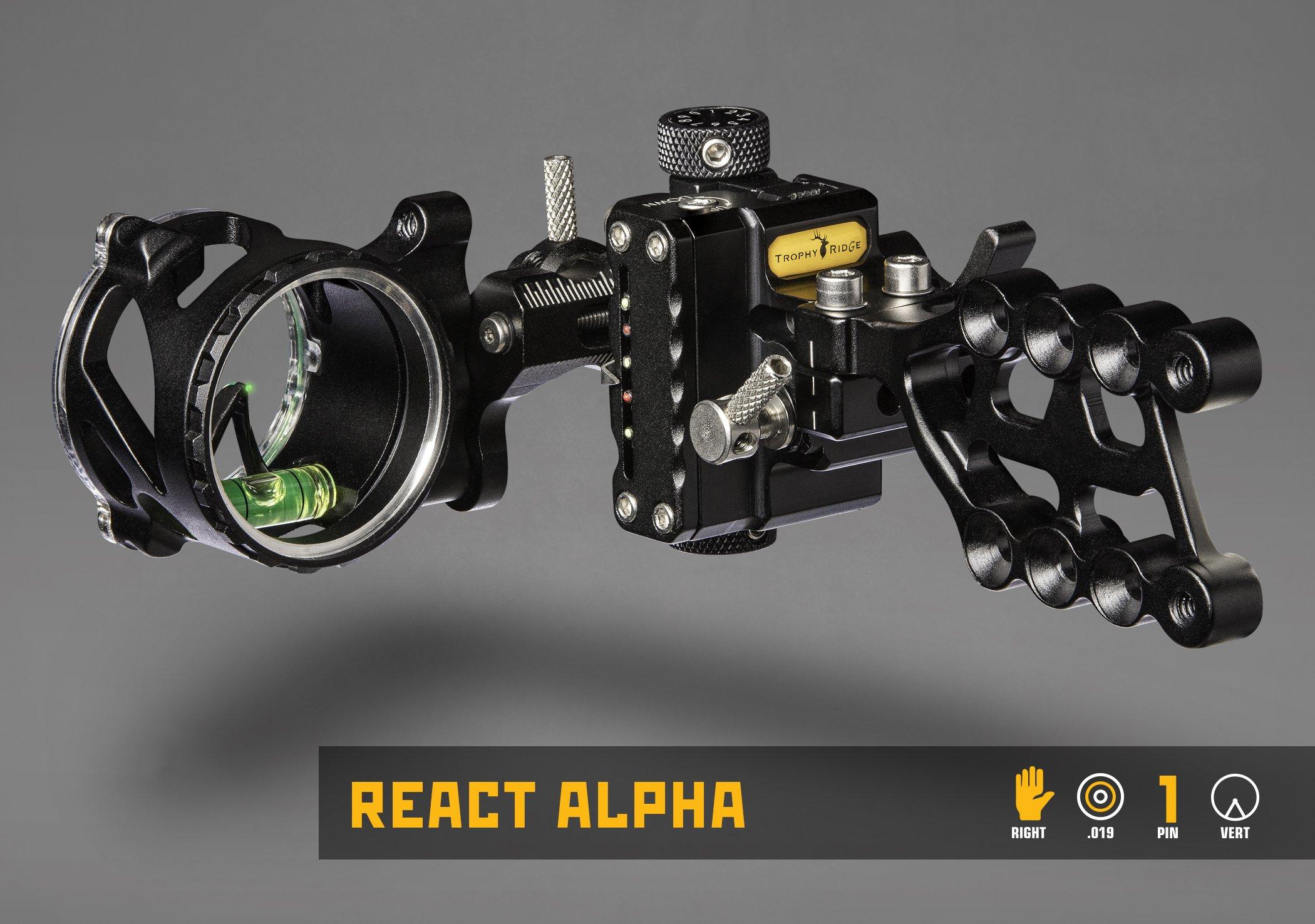 Trophy Ridge Alpha React 1 Pin Sight .019 by Trophy Ridge (Image #2)