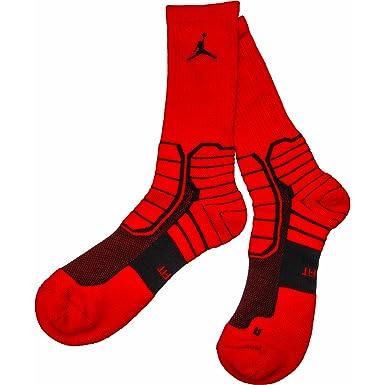Jordan Nike Jumpman Advance tripulación Calcetines Rojo ...