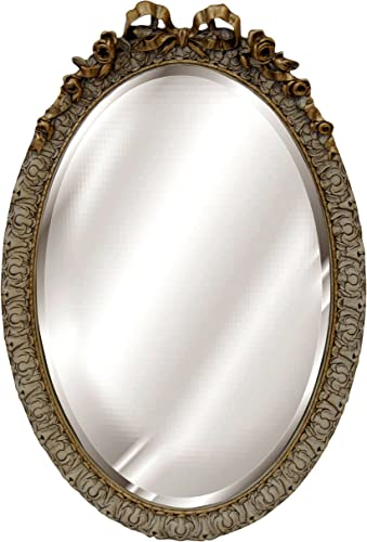 Hickory Manor House Oval with Bow Mirror, Verona