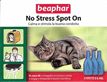 Beaphar - Pipetas antiestrés para gatos (100% natural a base de valeriana, 3 pipetas de 0,4 ml) - Ideal para las vacaciones: Amazon.es: Deportes y aire ...