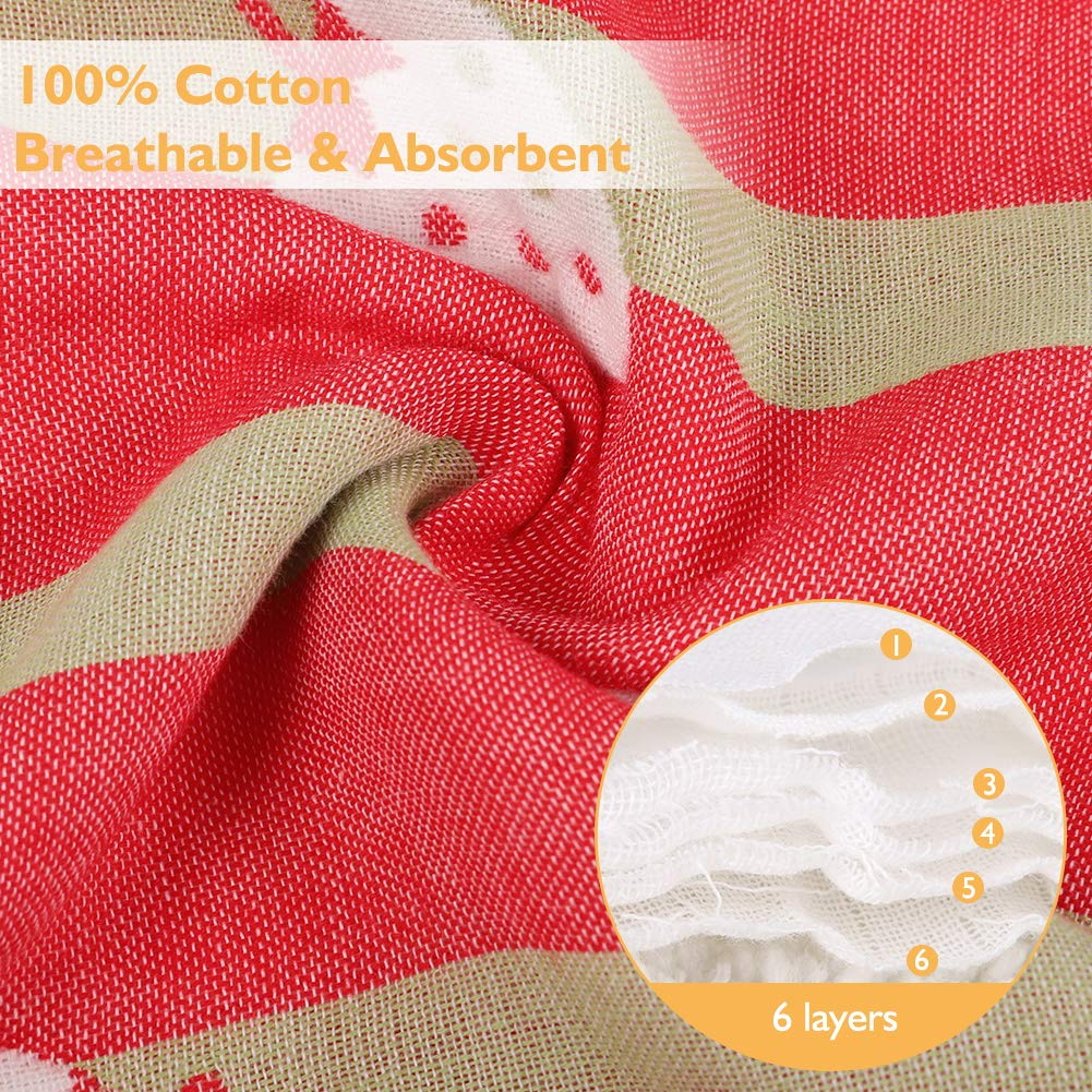 Baby Carrier Teething Drool Pads Great Baby Shower Gift by Accmor Baby Drool and Teething Reversible Cotton Pad Fits Most Baby Carrier