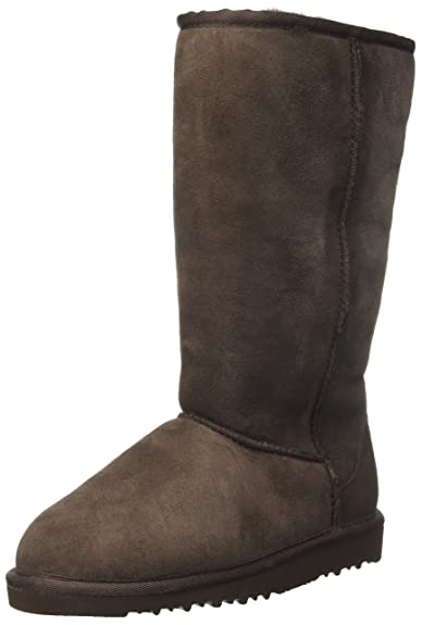 UGG Australia Junior K Classic Tall Boots, Brown (Chocolate), 1 UK (