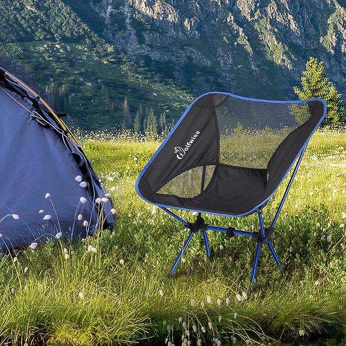 Tienda de campaña ligera de 4 estaciones para 3/4 personas, de WolfWise, para camping, senderismo, viajes, caza, impermeable, amarillo
