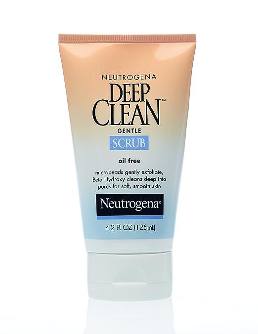 Neutrogena Deep Clean Gentle Scrub, 4.2 Ounce