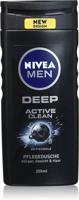 Nivea Men Cuidado ducha con carbón activo para hombres, para ...