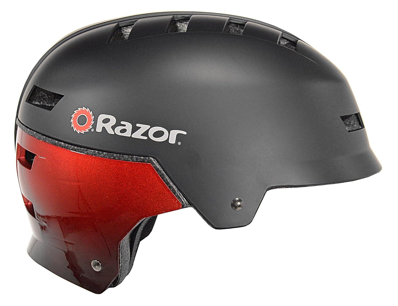 Youth Blue//White Kent International Inc 99707 Razor Dual Shell Mulit-Sport Helmet