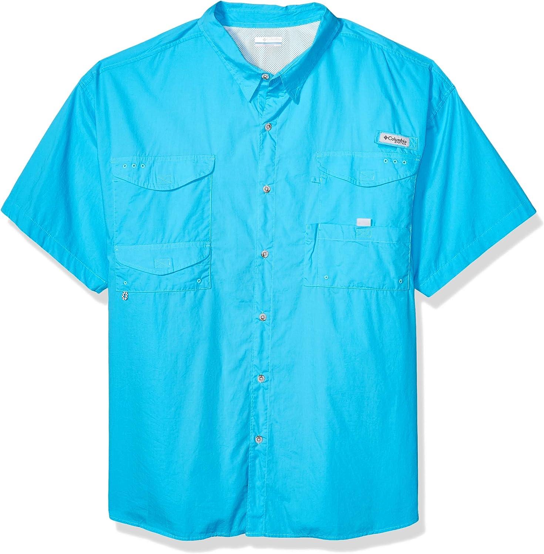 Columbia BoneheadTM Camisa de Manga Corta, 1011772, Atoll, 5 Unidades: Amazon.es: Deportes y aire libre