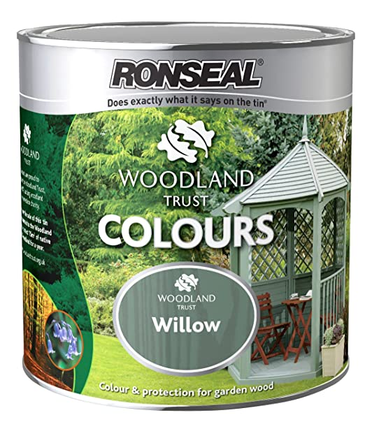 Unusual Ronseal Wtcwl L Woodland Trust Colours  Willow Amazoncouk  With Entrancing Ronseal Wtcwl L Woodland Trust Colours  Willow Amazoncouk Diy   Tools With Astounding Fencing For Garden Beds Also What Scares Squirrels From Garden In Addition Fencing For Top Of Garden Wall And Salisbury Garden Center As Well As Wooden Garden Planter Additionally Gardeners Cottage Blog From Amazoncouk With   Entrancing Ronseal Wtcwl L Woodland Trust Colours  Willow Amazoncouk  With Astounding Ronseal Wtcwl L Woodland Trust Colours  Willow Amazoncouk Diy   Tools And Unusual Fencing For Garden Beds Also What Scares Squirrels From Garden In Addition Fencing For Top Of Garden Wall From Amazoncouk
