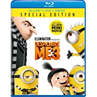 Amazon.com deals on Despicable Me 3 Blu-ray