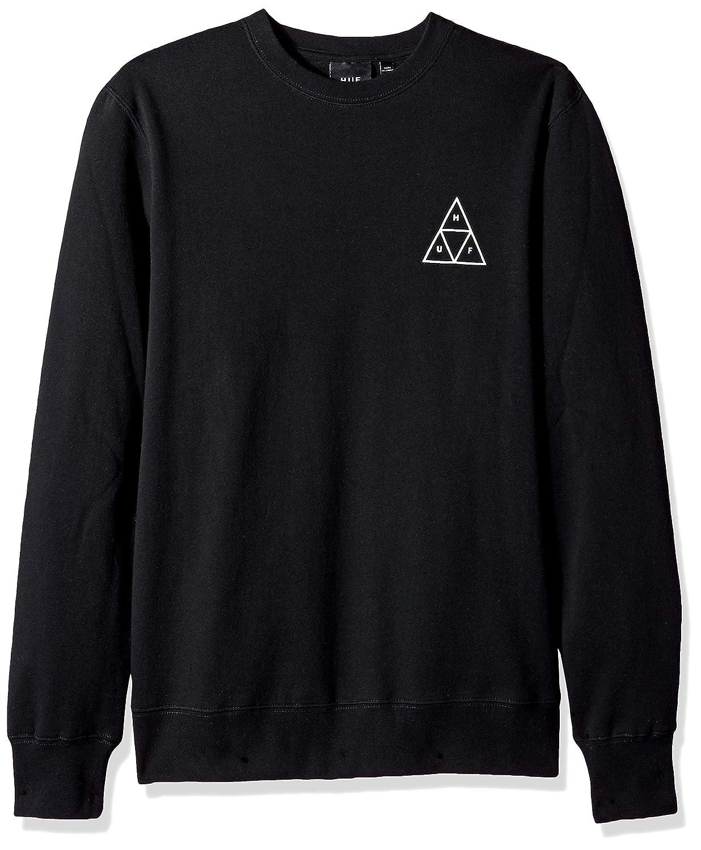 noir XL HUF Triple Triangle Sweat