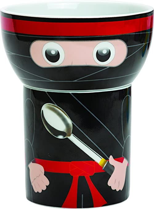 Amazon.com: Hungry Heroes Porcelain Cup & Bowl Set - Shadow ...