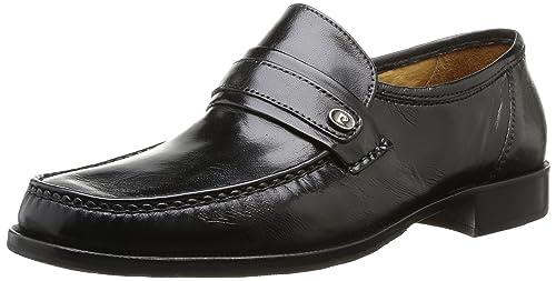 Barius Cordones Pierre De Hombre Cardin Complementos es Noir 45 Y Cuero Negro Para Zapatos Amazon nappa Noir 5tIxUqx