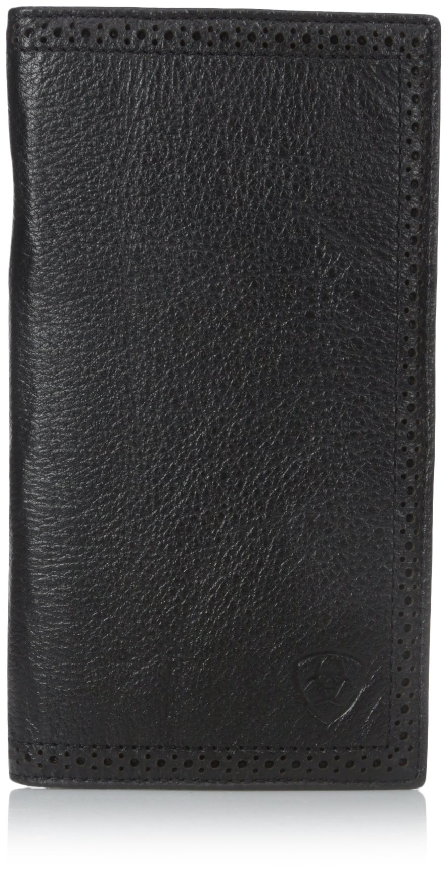 Ariat Ariat Shield Perforated Edge Rodeo Wallet Wallet Black One Size