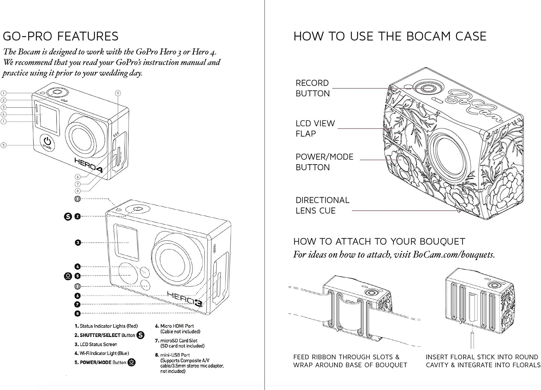 Electronics Camera & Photo BoCam Wedding Bouquet Video Camera Case ...