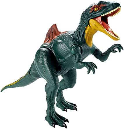 Jurassic World GDT40 Dual Attack Concavenator, Multicolour
