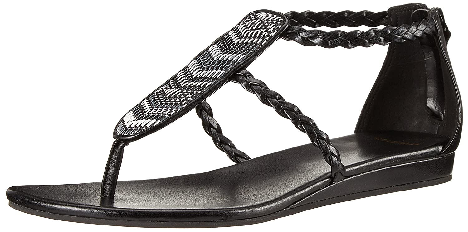 Womens Sandals Cole Haan Abbe Sandal Black/Black/White Combo