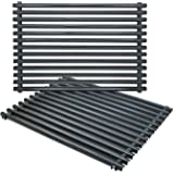 Antree 7525 Porcelain Enameled Grates (17.4 x 11.8 x 0.25) for Weber Spirit and Genesis Grills replacement Weber 7525 Grates