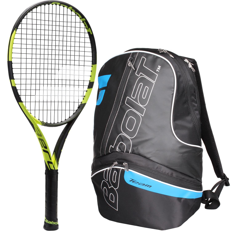 Babolat Pure Aero 25 Inch Junior Tennis Racquet (Black ...