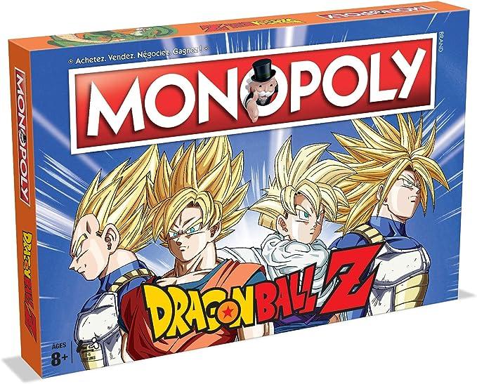 Monopoly Dragón Ball Z - Juego de Mesa (versión Francesa): Amazon.es: Juguetes y juegos
