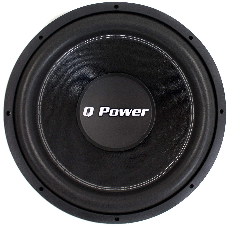 Q Power Qpf15 15 2200w Deluxe Series Dual Voice Coil Car Audio System Wiring Diagram 14 Amplifier Subwoofer Electronics