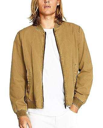 Zara - Chaqueta - para hombre beige S: Amazon.es: Ropa y ...