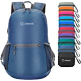 ZOMAKE Ultra Lightweight Packable Backpack Water Resistant Hiking Daypack,Small Backpack Handy Foldable Travel Outdoor Backpack Little Bag (Jewelry Blue)