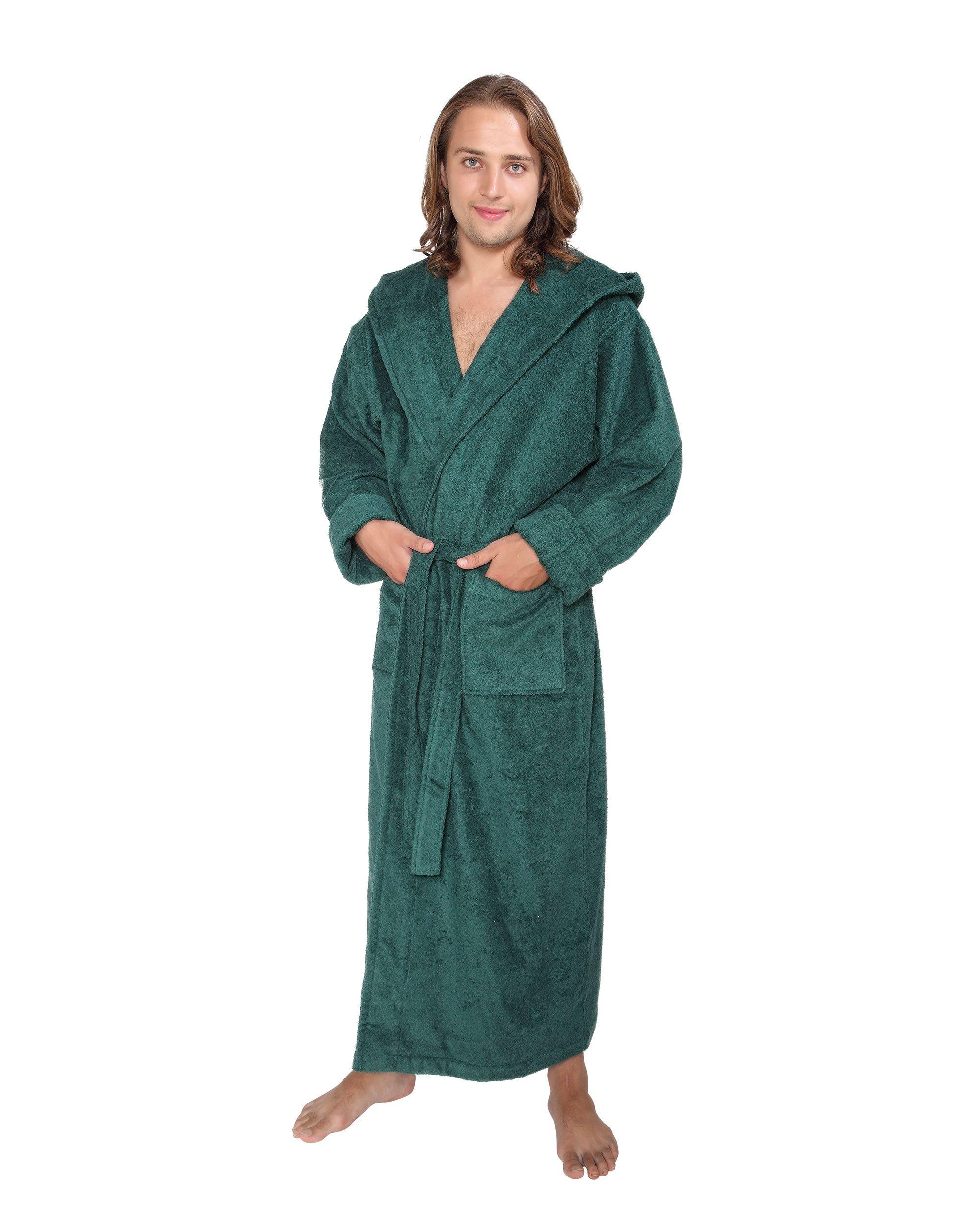 d20bd7e0d9d0 Arus Hood n Full Peignoir de bain en éponge à capuche extra-long pour