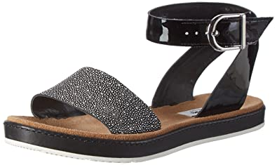 Black Open Women's Toe Sandals Black Moon Lea Clarks Romantic Combi HqUY11