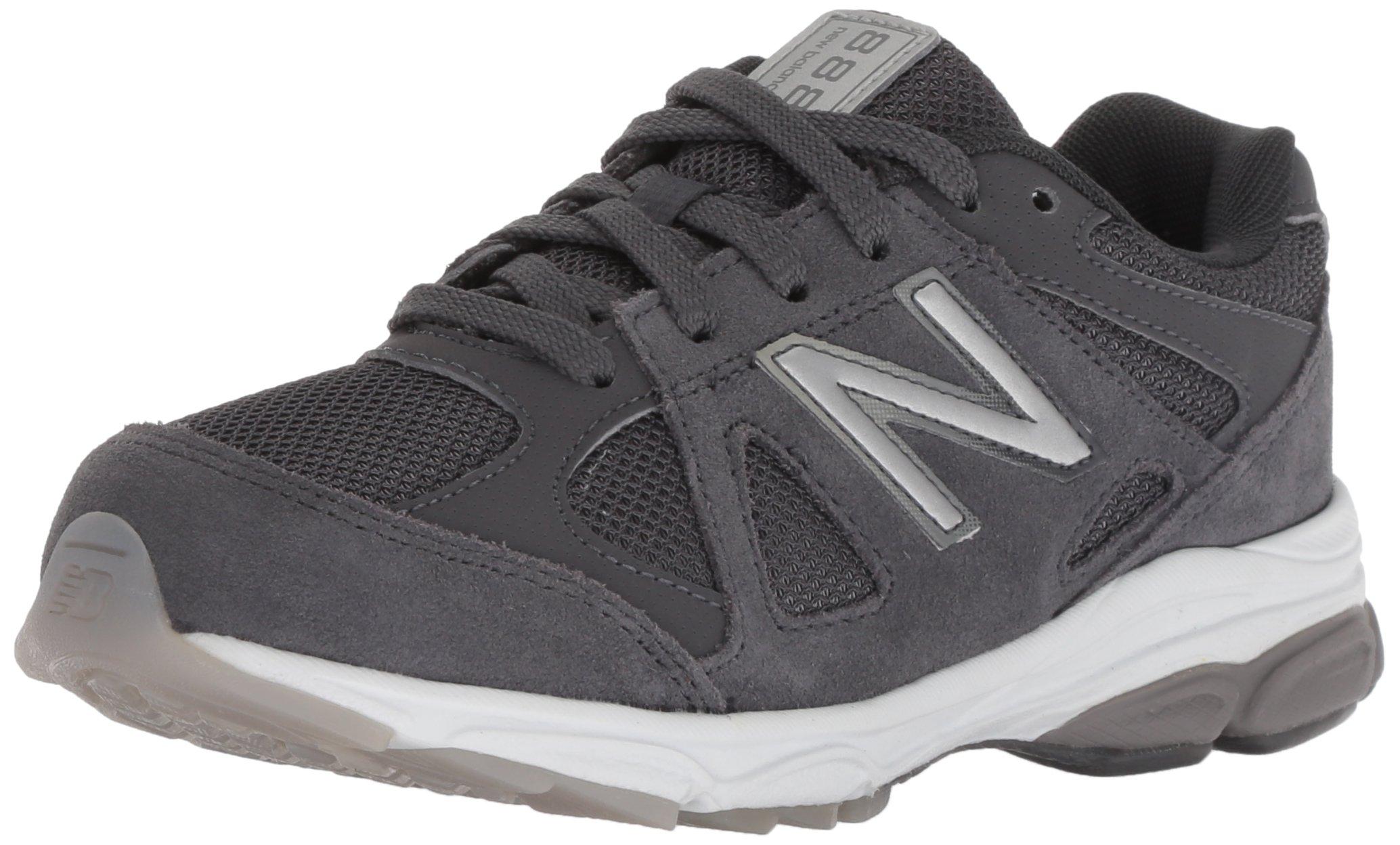 New Balance Boys' 888v1 Running Shoe, Magnet, 5 M US Big Kid