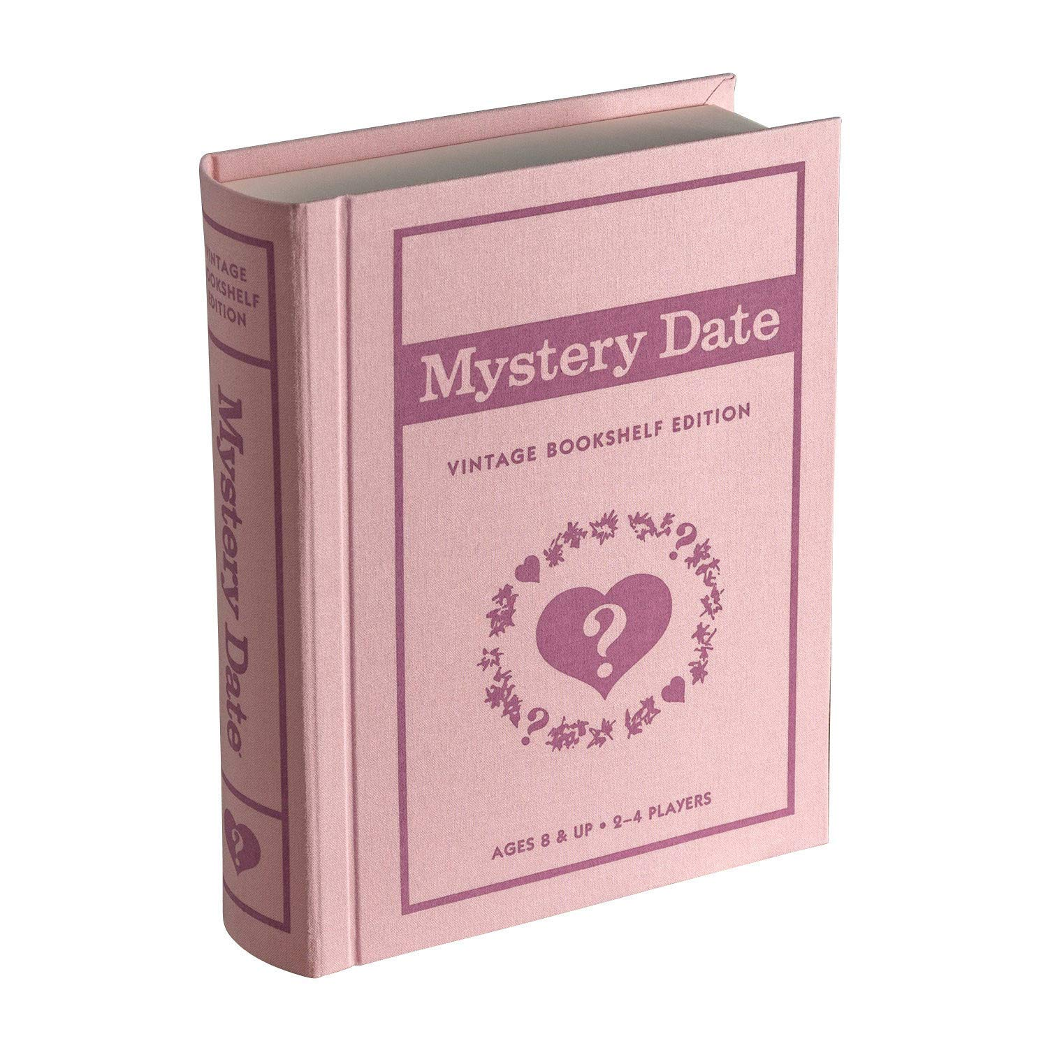 WS Game Company Mystery Date Vintage Bookshelf Edition, Pink