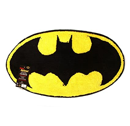 4fac54b3b64f Buy Batman Logo Bath Mat Online at Low Prices in India - Amazon.in