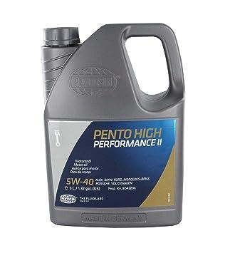 Pentosin 8042206-C Pento High Performance II 5W-40 Synthetic Motor Oil - 5