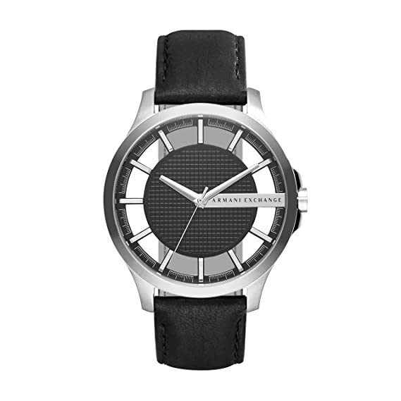 ac1ea28641d Buy Armani Exchange Analog Black Dial Men s Watch - AX2186 Online at Low  Prices in India - Amazon.in